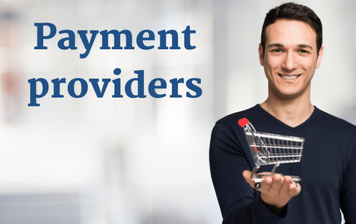 Payment providers for ecommerce