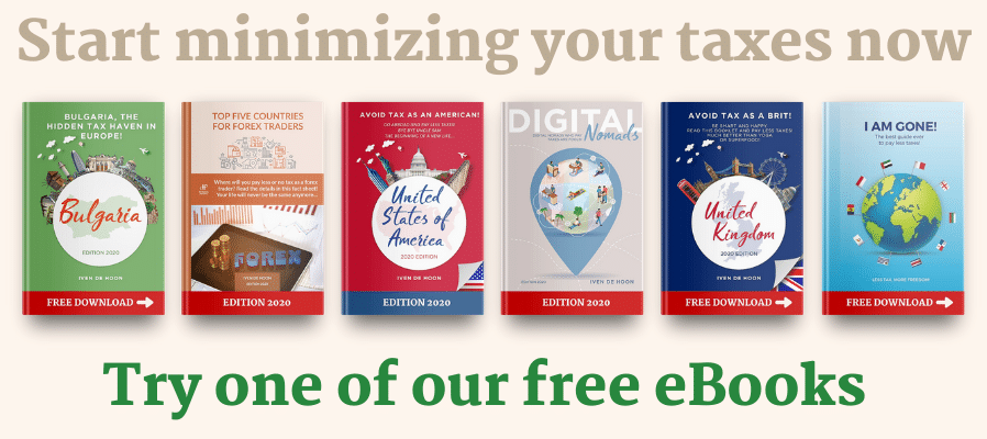 Minimize your taxes, read our books