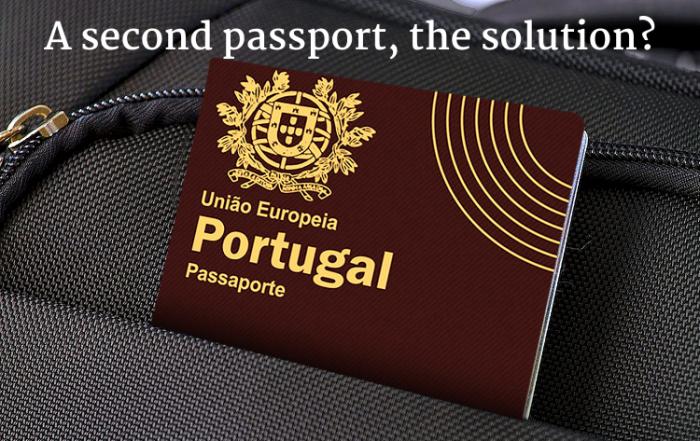second passport in Portugal?