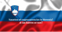 Taxation of cryptocurrencies in Slovenia